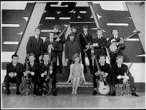 It's Throwback Thursday and Fraser Loveman posts this Mersey Beat era pic on his FB page: the Beatles, Searchers, Billy J. Kramer & The Dakotas, and front & centre is Cilla Black.