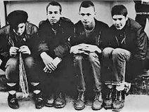 Original line-up with John Berry second from right.