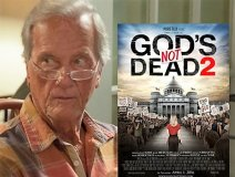 Pat Boone, a cast member in the Christian drama sequel