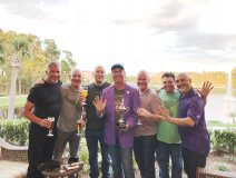 The Mukluk Kings in Orlando with Purple Parsons
