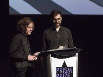 l-r: Kalle Mattson and Prism Prize winner Philip Sportel
