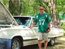 Saskatchewan Premier Brad Wall traded in his '87 Dodge Coronet for a '93 Cadillac Eldorado once owned by 'Outlaw' Waylon Jennings.
