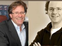 L--R: Barry Sookman, Michael Geist