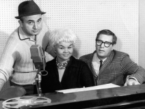 The Chess brothers with Etta James in the late '50s.