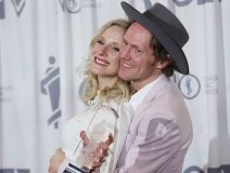 Whitehorse duo celebrating their Juno win earlier this year are now up for two CFMAs.