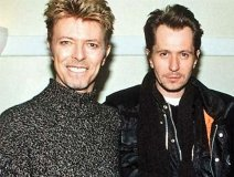 Heroes: David Bowie with pal Gary Oldman
