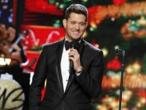 Contest winners in the Toronto area caught Michael Bublé at an intimate event at the historic Berkeley Church with a 725 capacity seating last night. The performance and Q&A, sponsored by the Rogers-owned CHFI and Hello! magazine, entitled Nobody But Bublé- Up Close & Personal, had the global superstar holding court with host Erin Davis. Friday night he plays an iHeart Radio album release party in NYC, promoting brand new record Nobody But Me.