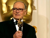 With 500 movie credits, legendary Italian composer Ennio Morricone finally landed Oscar gold at this year's Academy Awards with his score for Quentin Tarantino's The Hateful Eight.