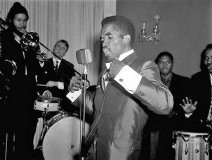 Prince Buster in action on stage