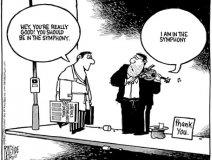 Cartoon by Raeside