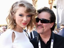 Scott Borchetta with his favourite act. Pic: Billboard
