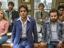 The cast from the TV series Vinyl speaks to an era when the DJ was god