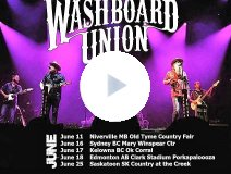 The Washboard Union on tour
