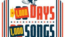1000 Days, 1000 Songs — graphic via 30 Days, 30 Songs Facebook page