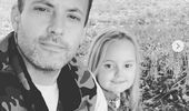 Dallas Smith with daughter Vayda on Instagram