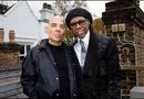 Merck Mercuriadis (l) with Nile Rodgers  Facebook photo