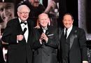 """Warren Buffett, Jimmy Pattison and Paul Anka at the 2018 Canada's Walk of Fame Awards (after Paul and Warren surprised Jimmy with a version of """"My Way""""), (Photo credit: George Pimentel)"""