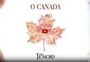 Screenshot from The Tenors' O Canada reel.