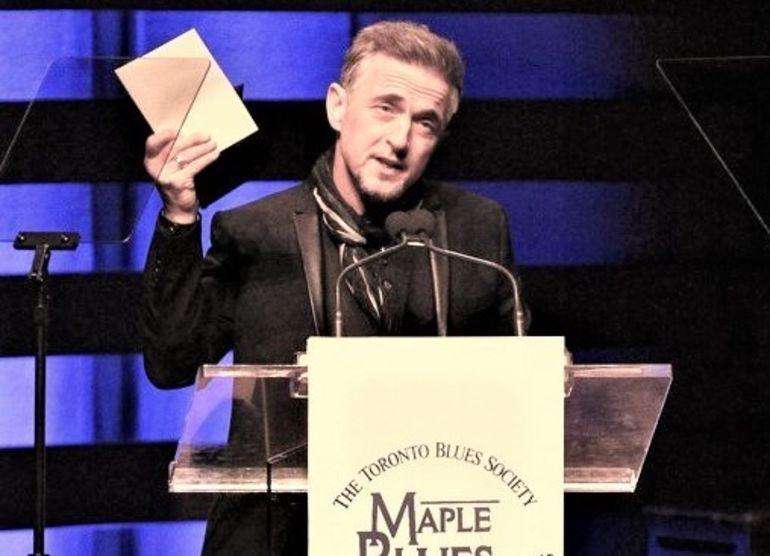 Colin James, Maple Blues Award's big winner Greg King Photography