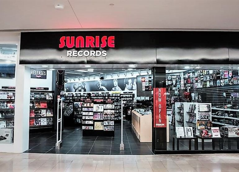 Sunrise Records is expanding, and sales are exploding