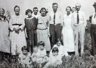 The King Family 1925