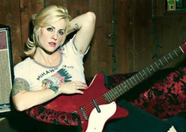 Brody Dalle of The Distillers