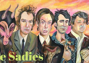 The Sadies  Illustration by Jeremy Bruneel