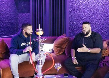 Drake and DJ Khaled  Facebook photo