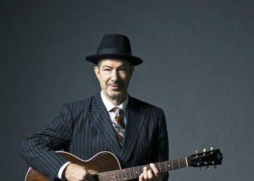Danny in a classic bluesman pose. Photo credit: Don Dixon