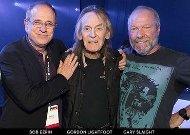 Bob Ezrin, Gordon Lightfoot and Gary Slaight