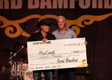 Gord Bamford (l) and Allan Reid    Twitchyfinger Photography