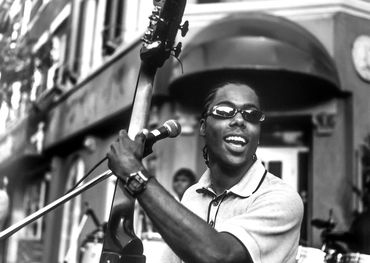 Alex Cuba at the Beaches Jazz Festival  Photo: Bill King