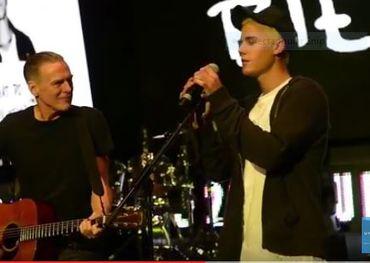 Bryan Adams, Justin Bieber