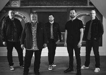 BLR Records team (l-r): Joey Moi, Craig Wiseman, Chief Zaruk, Seth England and President Clay Hunnicutt