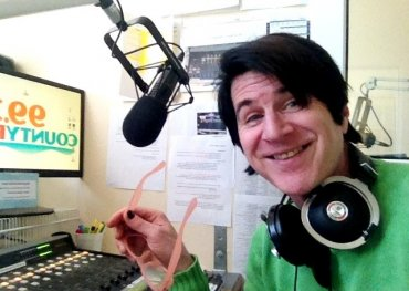 The ever youthful Bobby Gale at the mic during one of his Sunday Glide radio shows that are broadcast weekly on 99.3 County FM