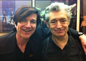 Bobby with famed Brit guitarist/producer Chris Spedding