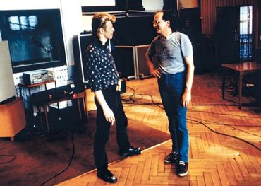 David Bowie in Hansa Studios