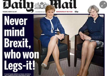 Britain's Daily Mail headline says it all