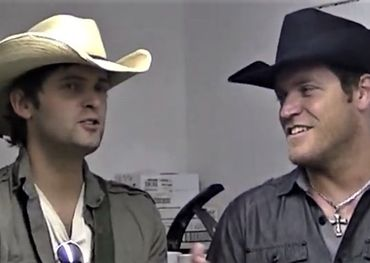 Brody and Canyon as they appeared in a 2011 fundraising promo video