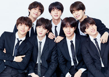 BTS official Facebook pic