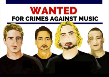 Nickelback wanted poster