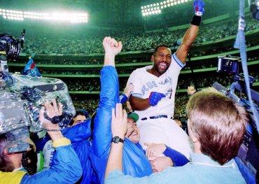 Joe Carter, Bill King, baseball, Blue Jays