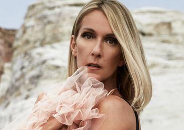 Celine Dion image courtesy of her Facebook page.
