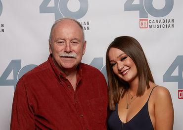 CM founder Jim Norris with Kira Isabella