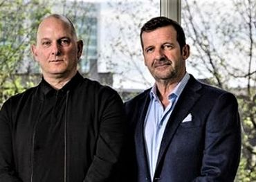 L-R: eOne Global Music President Chris Taylor, eOne CEO Darren Throop