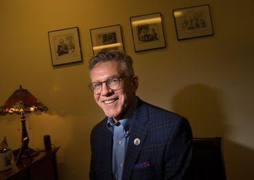 JAZZ.FM Chair David McGown. Photo: Rick Madonik, The Toronto Star