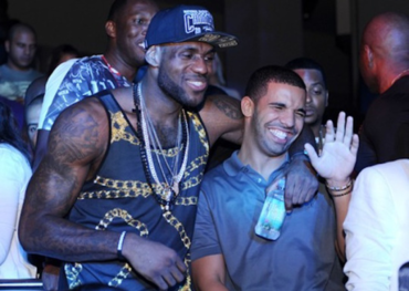 Drake and LeBron James  Photo: Reddit