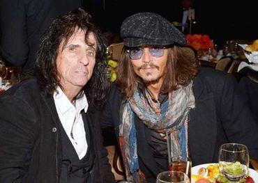 Alice Cooper, Johnny Depp