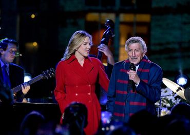 Diana Krall earns two Grammy noms for recordings made with Tony Bennett.