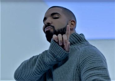 "Still from the ""Hotline Bling"" music video"
